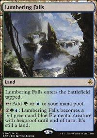 Lumbering Falls - Battle for Zendikar