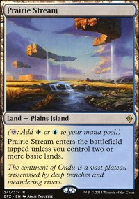Prairie Stream - Battle for Zendikar