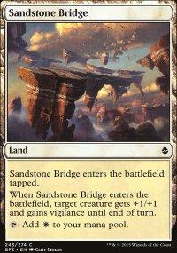 Sandstone Bridge - Battle for Zendikar