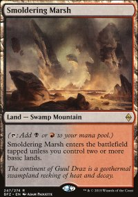 Smoldering Marsh - Battle for Zendikar