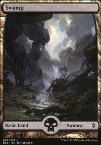 Swamp 9 - Battle for Zendikar