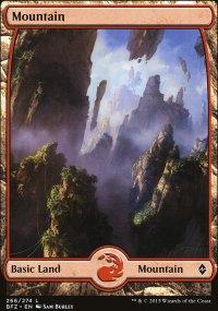 Mountain 3 - Battle for Zendikar
