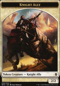 Knight Ally - Battle for Zendikar
