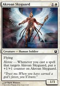 Akroan Skyguard - Born of the Gods