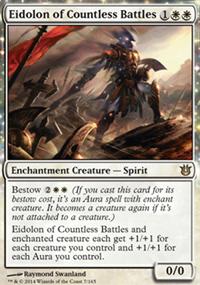 Eidolon of Countless Battles - Born of the Gods