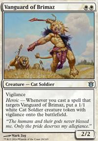 Vanguard of Brimaz - Born of the Gods