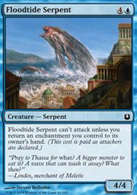 Floodtide Serpent - Born of the Gods