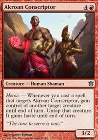 Akroan Conscriptor - Born of the Gods
