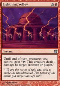 Lightning Volley - Born of the Gods