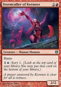 Stormcaller of Keranos - Born of the Gods