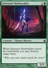 Setessan Starbreaker - Born of the Gods