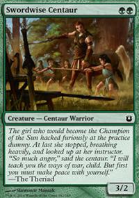 Swordwise Centaur - Born of the Gods