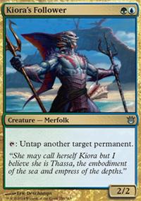 Kiora's Follower - Born of the Gods