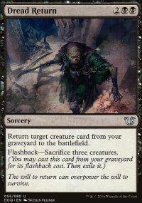 Dread Return - Blessed vs. Cursed