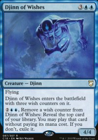 Djinn of Wishes - Commander 2018