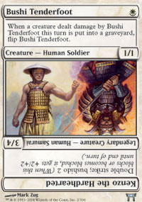 Bushi Tenderfoot - Champions of Kamigawa