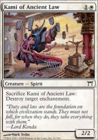 Kami of Ancient Law - Champions of Kamigawa