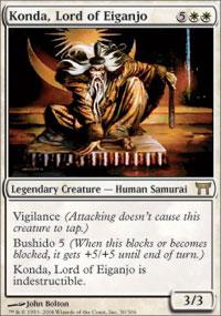 Konda, Lord of Eiganjo - Champions of Kamigawa