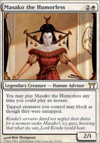 Masako the Humorless - Champions of Kamigawa