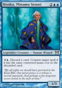 Hisoka, Minamo Sensei - Champions of Kamigawa