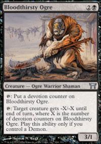 Bloodthirsty Ogre - Champions of Kamigawa
