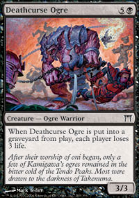 Deathcurse Ogre - Champions of Kamigawa