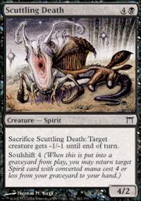 Scuttling Death - Champions of Kamigawa