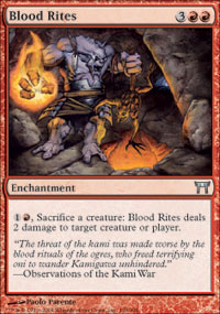 Blood Rites - Champions of Kamigawa