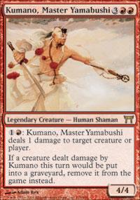 Kumano, Master Yamabushi - Champions of Kamigawa