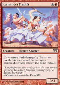 Kumano's Pupils - Champions of Kamigawa