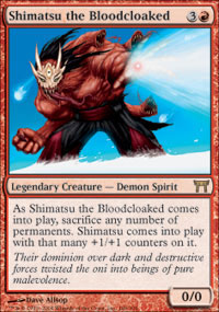 Shimatsu the Bloodcloaked - Champions of Kamigawa