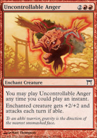 Uncontrollable Anger - Champions of Kamigawa
