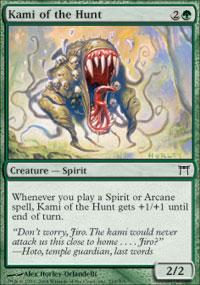 Kami of the Hunt - Champions of Kamigawa