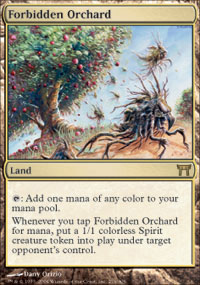 Forbidden Orchard - Champions of Kamigawa