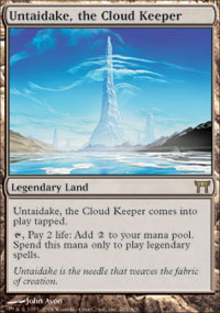 Untaidake, the Cloud Keeper - Champions of Kamigawa