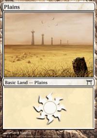 Plains 4 - Champions of Kamigawa