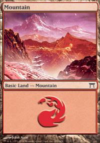 Mountain 1 - Champions of Kamigawa