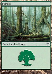 Forest 1 - Champions of Kamigawa
