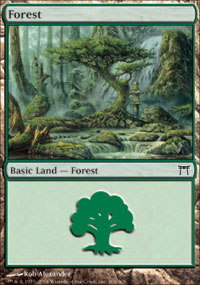Forest 2 - Champions of Kamigawa
