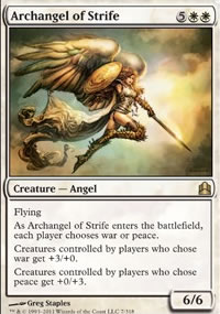 Archangel of Strife - MTG Commander