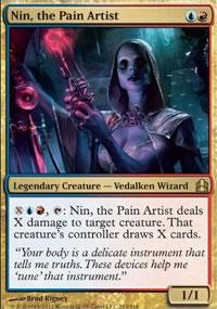 Nin, the Pain Artist - MTG Commander