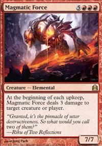 Magmatic Force - MTG Commander