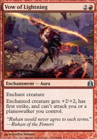 Vow of Lightning - MTG Commander