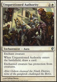 Unquestioned Authority - Conspiracy