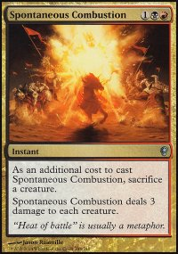 Spontaneous Combustion - Conspiracy