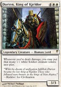 Darien, King of Kjeldor - Coldsnap