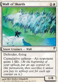 Wall of Shards - Coldsnap
