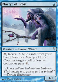 Martyr of Frost - Coldsnap