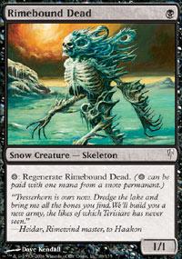 Rimebound Dead - Coldsnap