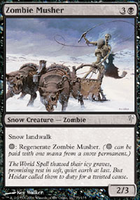 Zombie Musher - Coldsnap